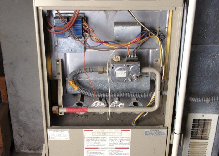 Leaking Furnace Condensate Drain Trap